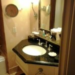Vanity-the bathroom and walk-in closet are larger than some rooms in my house!