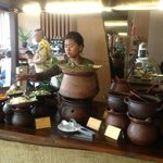 "traditional dishes, ""pecel, opor ayam, etc.. very delicious"""