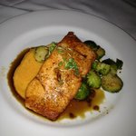 Salmon with Brussel Sprouts