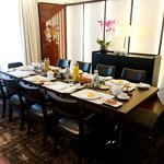 Bvlgari suite (V) dining table