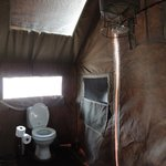 En-suite with bucket shower