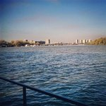 Danube River view