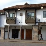 Fachada do El Virrey Boutique Hostal-Cuzco-PE