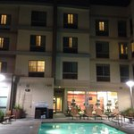 Pool and Spa Area - Courtyard by Marriott, Santa Ana, CA