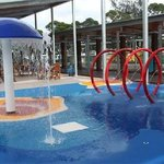 Soft water play area