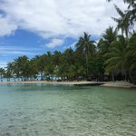 Beautiful beach side of Vahine