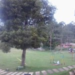 CHILDREN PARK AND LAKE VIEW FROM FIRST RAW VILLA COTTAGES AND