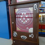 One of the Old Penny machines you can play at end of Southport Pier
