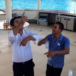 Mohamed & Ahmed at pool bar, great staff & a credit to the hotel x
