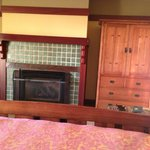 Fireplace in-suite