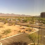 View from room. Talking Stick Casino across the street