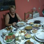 Great dinner - Aracelys' home cooking