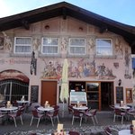 Beautiful building decor in Mittenwald
