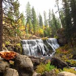 The Middle McCloud Falls - super hiking