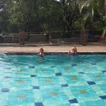 Kids Enjoying at the pool