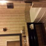 Luxrious... marble floor, soaking tub, spa toiletries