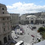 Piazza Principe-view from window (train station)