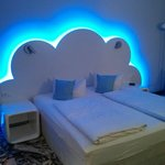 Sleeping on a cloud? :)