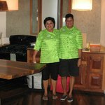 The Chefs of Belize - our dear Delsia and Norma