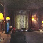 Panaromic view of the room