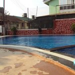 Renovated swimming pool