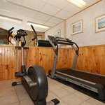 Fitness area off Indoor Pool