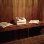 Sauna in the spa