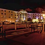 The Dover Premier Inn at Night