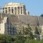 Acropolis and Ancient Theater Foto