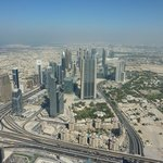 View from Burj Khallifa