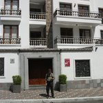 Front of the Anahi Boutique Hotel