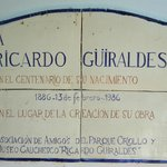 Tribute to Ricardo Guiraldes