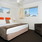 View rooms feature king sized beds