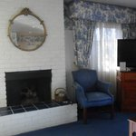 Fireplace, TV and Room Decor