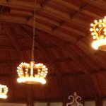 Chandaliers in the Crown Room