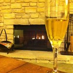 The Fireplace & Champagne