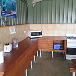 Camp kitchen port lincoln tourist park, with no sink. ...