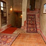 Furnished with handmade rugs