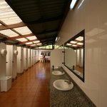 clean bathrooms camping playa joyel