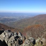 View in Shenandoah National Park