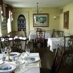 The main dining room at The Old Tavern Restaurant