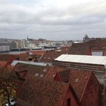 View toward harbor / Bryggen from rm 409