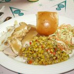 Turkey Dinner w/ Corn and Coleslaw