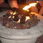 The Gas fire pit