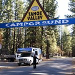 Leaving the campground