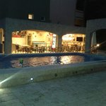 Pool Bar in the evening