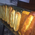 Fresh bread made in vigneto