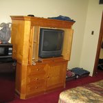 TV  Clothes Hanging Area