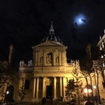 The Sorbonne, right next door