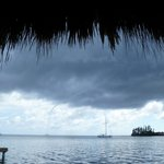water spout off French Key